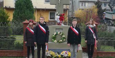 Straż honorowa zokazji Święta Odzyskania Niepodległości