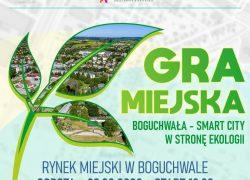 """Gra miejska """"Boguchwała – Smart City wstronę ekologii"""""""